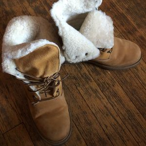 Timberlands women's boots